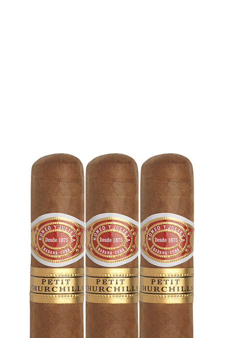 Romeo y Julieta - Petit Churchill was developed to provide all the pleasure of a larger format cigar - Robusto House store.