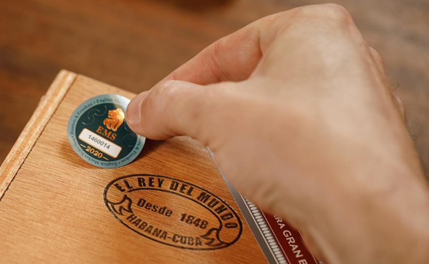 Cuban cigars we sell at Robusto House are authentic EMS (English Market Selection) and carry a sticker of authenticity