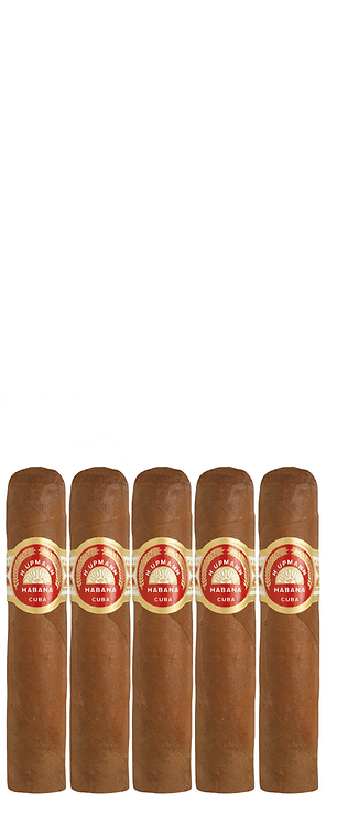 A light hand rolled Cuban jewel of a cigar. H Upmann Half Corona, five cigars to available to purchase from Robusto House.
