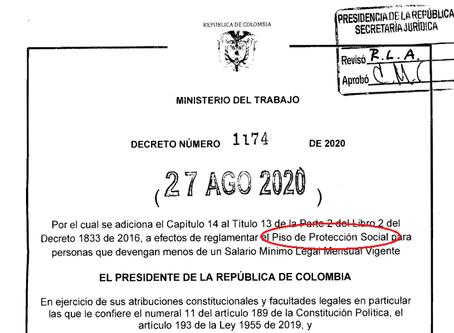 ¿Qué implicaciones trae el decreto 1174 del 2020?