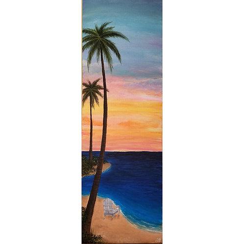 Island Vibes Original Acrylic Painting