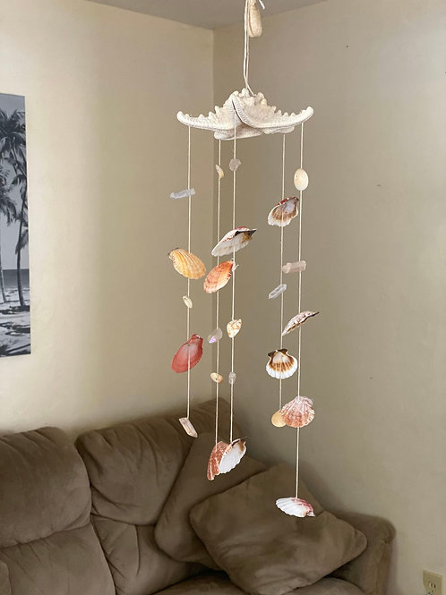 Star Fish Wind Chime