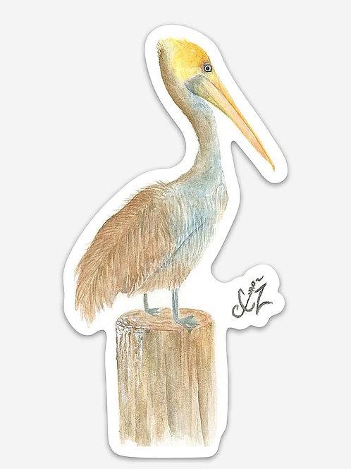 Rusty Pelican Decal