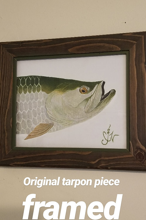 Tarpon original painting