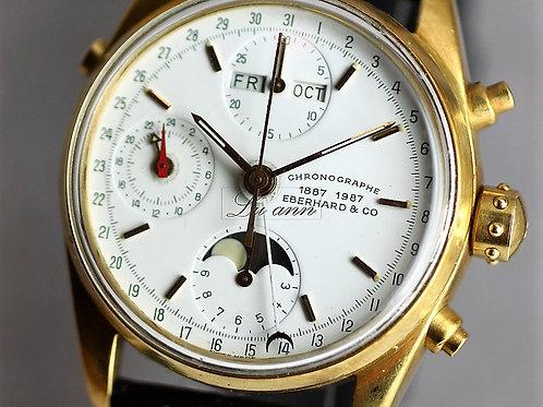 Eberhard & Co Chronograph Navy master 18KYG