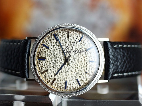 Patek Philippe Vintage Back Winder White Gold Automatic