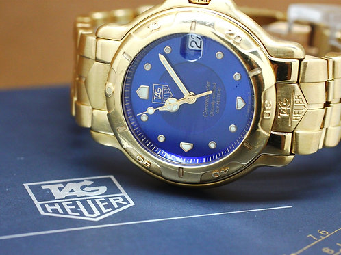 Tag Heuer 6000 Chonometer Gold Limited Edition
