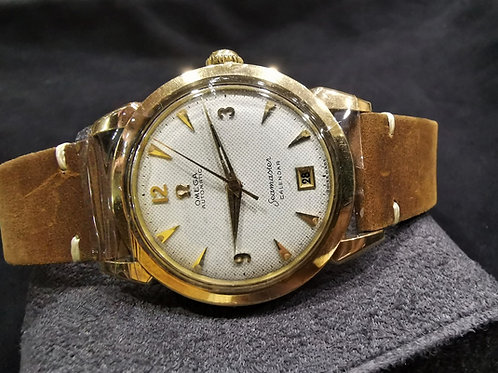 Omega Seamaster Calender Honey comb dial