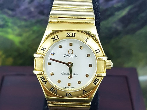Omega Ladies Constellation 'My Choice' 18K Gold