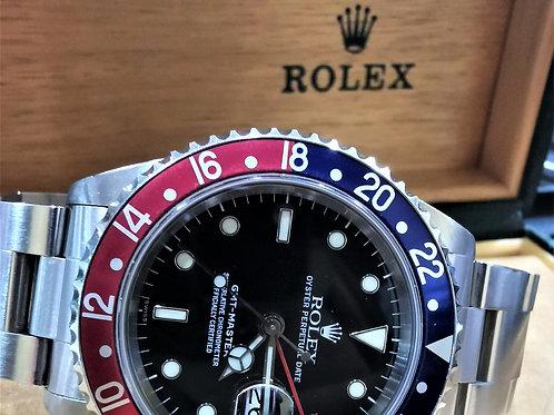 Rolex GMT Master Pepsi 16700 SWISSdial
