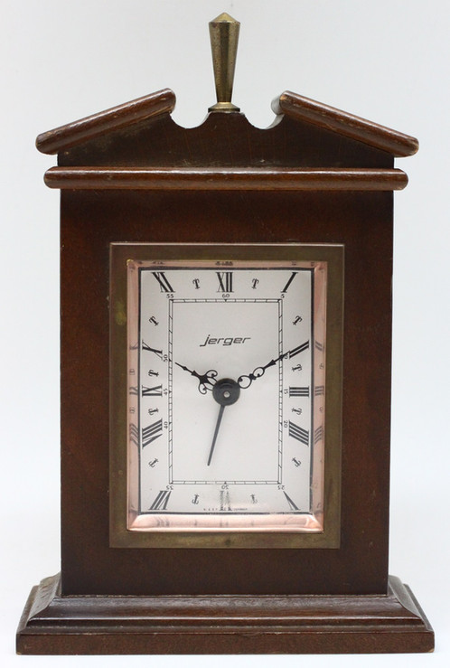 Jerger Germany Alarm Table Clock | Vintage Watch Singapore| Pre Owned|  Lu Ann Vintage Collection