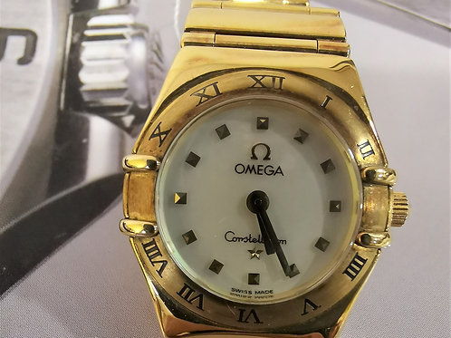 Omega Ladies Constellation Gold