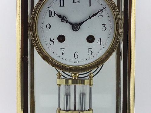 Mauthe Brass Alarm Table clock