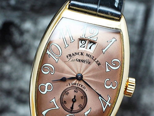 Franck Muller 18K RG Cintree Curvex Big Date Limited Edition