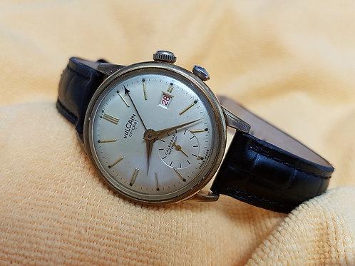 Vulcain Cricket Calendar Alarm Vintage watch