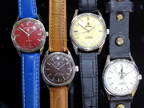 Vintage Sandoz Favre-Leuba Classic Dress Watch