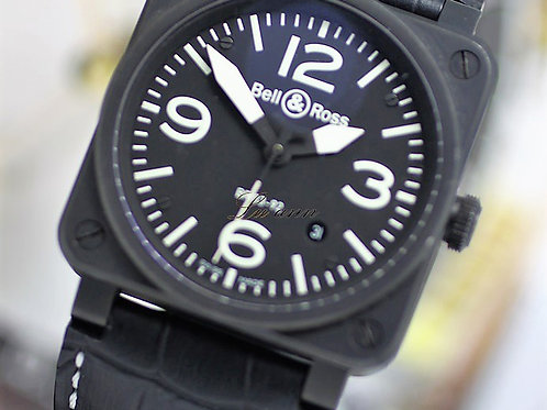 Bell & Ross Aviation BR03-92 Black PVD