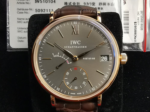IWC Portofino IW510104 Eight Days Rose Gold