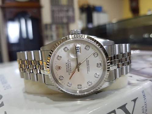 Rolex Oyster Date Just Diamond Marker 36mm