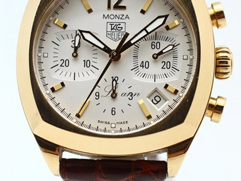 Tag Heuer Monza Chronometer Limited Gold Edition