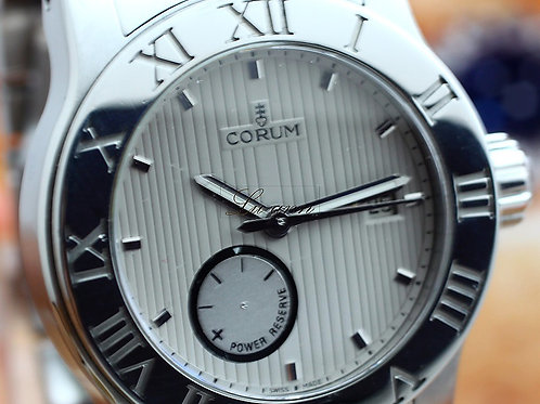 Corum Romvlvs Date and Power Reserve Automatic Watch