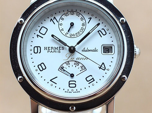 Hermes Clippers Power Reserve GMT Automatic