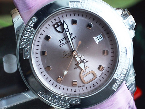 Tudor Prince ladies Automatic Diamond Bezel