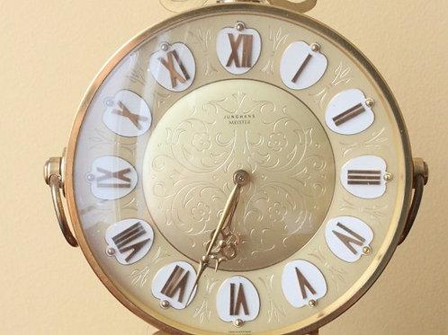 Junghans Meister Bronze Table clock