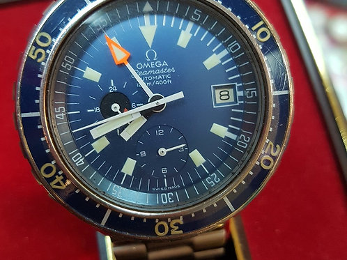 Omega Vintage Seamaster Chronograph Big Blue 176.004