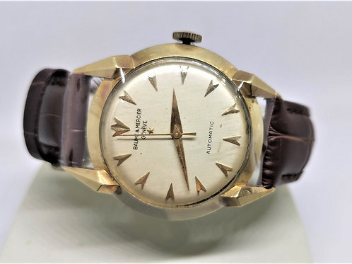 Baume & Mercier 14K Gold Automatic