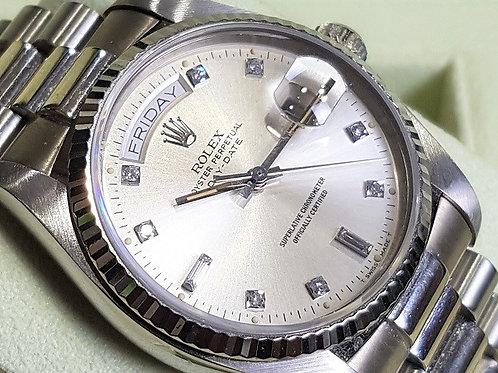 Rolex President Day-Date 18039 Diamond