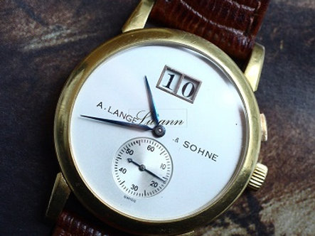A. Lange & Söhne Saxonia Vintage Big Date 102