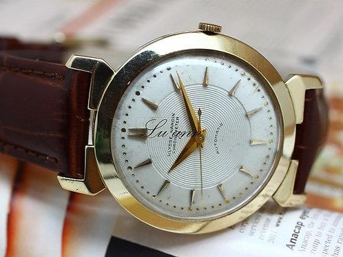 Ulysse Nardin 14K Gold Vintage Fancy Lugs Automatic