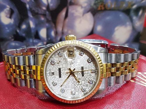 Rolex Ladies Oyster Diamonds