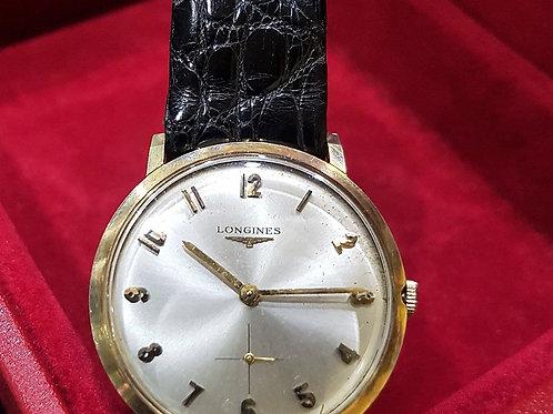 Longines Vintage 'Celotex' 14K Gold Manual Winding Watch