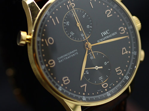 IWC Portuguese Chronograph Rattrapante Rose Gold