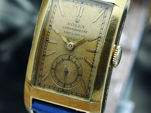 Rolex Prince Chronometer 18K Gold