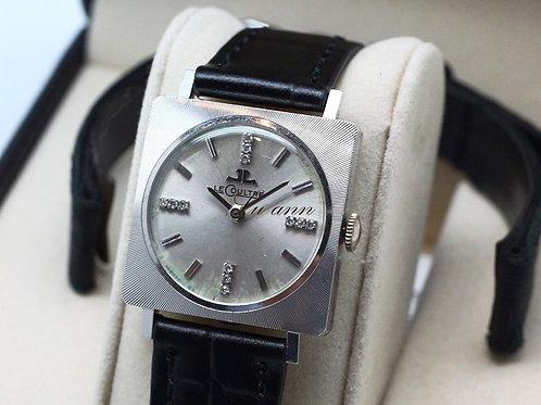 Jaeger-LeCoultre Classic Vintage 14K White Gold Diamond