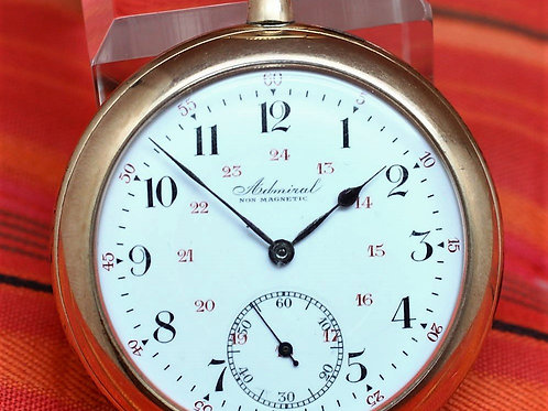 Admiral Tacy Watch Co. Vintage Swiss Pocket Watch