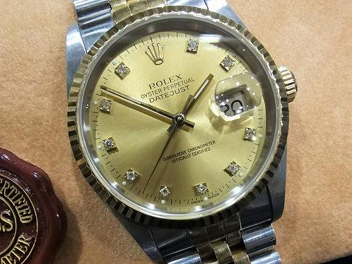 Rolex Oyster Datejust 16233