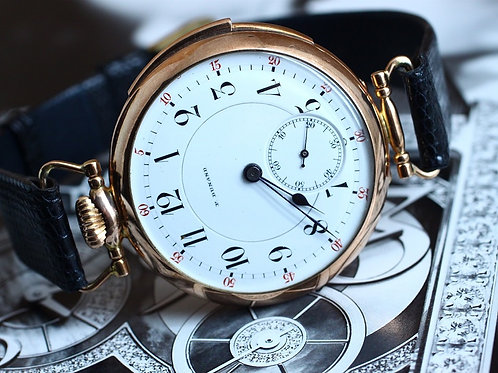 P.Dunand Quarter Repeater Gold Watch