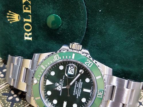 Rolex Submariner Green Hulk Ref. 116610LV