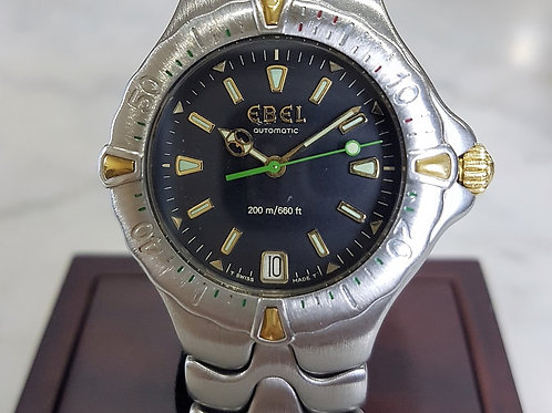 Ebel Sport Wave 200m Automatic Diver Watch