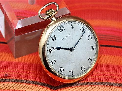 Montauk Vintage Gold-filled Pocket Watch