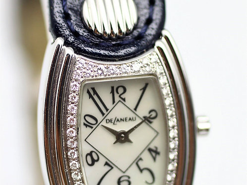 Delaneau First Lady Diamond White Gold Ladies Watch