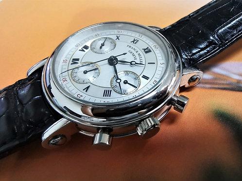 Franck Muller Double Face Platinum Chronograph Telemeter