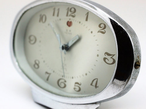 Chinese 'Wu Yang'  Alarm Table clock