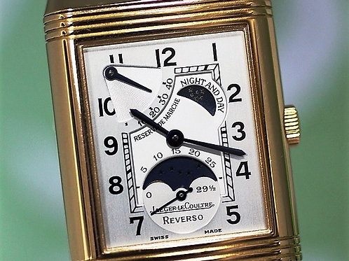 Jaeger LeCoultre Reverso Day Night Moonphase Gold