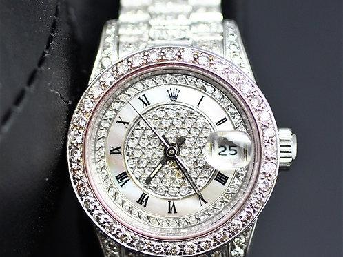 Rolex Ladies Datejust 69179 Customized