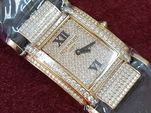 Patek Philippine Twenty-4 Rose Gold Diamonds